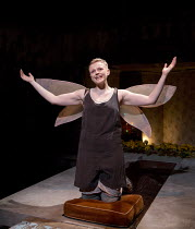 THE SKRIKER   by Caryl Churchill   music: Nico Muhly & Antony   design: Lizzie Clachan   lighting: Jack Knowles   director: Sarah Frankcom ~~Maxine Peake (The Skriker) ~part of MIF 2015   Royal Exchan...