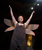 THE SKRIKER   by Caryl Churchill   music: Nico Muhly & Antony   design: Lizzie Clachan   lighting: Jack Knowles   director: Sarah Frankcom   Maxine Peake (The Skriker)  part of MIF 2015   Royal Exc...
