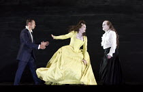 SAUL   music: Handel   libretto: Jennings   conductor: Ivor Bolton   design: Katrin Lea Tag   lighting: Joachim Klein   choreographer: Otto Pichler   director: Barrie Kosky l-r: Iestyn Davies (David),...