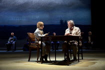 THREE DAYS IN THE COUNTRY   by Patrick Marber   after Turgenev   design: Mark Thompson   lighting: Neil Austin   director: Patrick Marber   Tom Burgering (Kolya), Gawn Grainger (Schaaf) with 'Watchers...