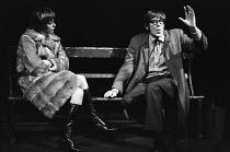 THE GREAT EXHIBITION   by David Hare   design: Saul Radomsky   lighting: Nick Chelton   director: Richard Eyre Carolyn Seymour (Catriona), David Warner (Hammett)Hampstead Theatre (HT), London NW3   24...