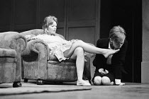 SLAG   by David Hare   design: John Gunter   director: Max Stafford-Clark   l-r: Barbara Ferris (Elise), Anna Massey (Ann)  Royal Court Theatre (RC), London SW1   24/05/1971� Donald Cooper/Photostage...