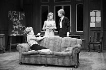 SLAG   by David Hare   design: John Gunter   director: Max Stafford-Clark   l-r: Lynn Redgrave (Joanne), Barbara Ferris (Elise), Anna Massey (Ann)  Royal Court Theatre (RC), London SW1   24/05/1971  �...