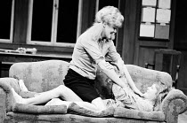 SLAG   by David Hare   design: John Gunter   director: Max Stafford-Clark l-r: Lynn Redgrave (Joanne), Barbara Ferris (Elise)Royal Court Theatre (RC), London SW1   24/05/1971 Donald Cooper/Photostage...