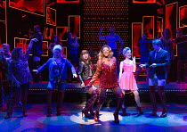 KINKY BOOTS   music & lyrics: Cyndi Lauper   book: Harvey Fierstein   set design: David Rockwell   costumes: Gregg Barnes   lighting: Kenneth Posner   choreographed & directed by Jerry Mitchell   cent...