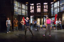 KINKY BOOTS   music & lyrics: Cyndi Lauper   book: Harvey Fierstein   set design: David Rockwell   costumes: Gregg Barnes   lighting: Kenneth Posner   choreographed & directed by Jerry Mitchell   fron...