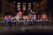 KINKY BOOTS   music & lyrics: Cyndi Lauper   book: Harvey Fierstein   set design: David Rockwell   costumes: Gregg Barnes   lighting: Kenneth Posner   choreographed & directed by Jerry Mitchell   on t...