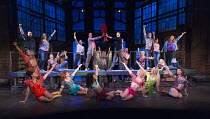 KINKY BOOTS   music & lyrics: Cyndi Lauper   book: Harvey Fierstein   set design: David Rockwell   costumes: Gregg Barnes   lighting: Kenneth Posner   choreographed & directed by Jerry Mitchell   fina...