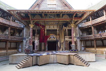 NELL GWYNN   by Jessica Swale   design: Hugh Durrant   director: Christopher Luscombe ~stage,set,empty,yard~Shakespeare's Globe (SG), London SE1   24/09/2015                  ~(c) Donald Cooper/Photos...