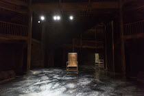 HECUBA   after Euripides   in a new version by Marina Carr   design: Soutra Gilmour   lighting: Charles Balfour   director: Erica Whyman ~stage,set,full,empty,mirror,auditorium~Royal Shakespeare Compa...