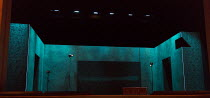 PELLEAS ET MELISANDE   music: Debussy   libretto: Maeterlinck   conductor: Jonathan Berman   design: Oliver Townsend   lighting: Mark Howland   director: James Conway stage,set,empty,box,lampsEnglish...