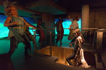 MEDEA   by Euripides   in a new version by Rachel Cusk   set design: Ian MacNeil   costumes: Holly Waddington   lighting: Neil Austin   choreography: Scott Ambler   director: Rupert Goold   Kate Fleet...