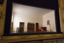 THE FATHER   by Florian Zeller   translated by Christopher Hampton   design: Miriam Buether   lighting: Guy Hoare   director: James Macdonald  stage,set,empty,full,frame,box.interior,French,appartment...