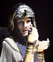 ANTONY AND CLEOPATRA    by Shakespeare   director: Gregory Doran  Harriet Walter (Cleopatra, Queen of Egypt) with the asp part of The Complete Works Festival - April 2006-March 2007     19/04/2006Roya...