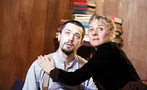 GHOSTS   by Henrik Ibsen   director: Anna Mackmin    Christian Coulson (Oswald), Niamh Cusack (Mrs Alving)  Gate Theatre, London W11   11/01/2007   Donald Cooper/photostage.co.uk   ref/7295