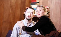 GHOSTS   by Henrik Ibsen   director: Anna Mackmin    Christian Coulson (Oswald), Niamh Cusack (Mrs Alving)  Gate Theatre, London W11   11/01/2007  � Donald Cooper/photostage.co.uk   ref/7298