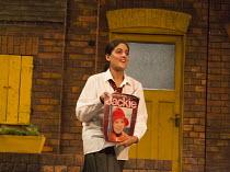 ANITA AND ME   by Meera Syal   adapted for the stage by Tanika Gupta   design : Bob Bailey   lighting: Chahine Yavroran   director: Roxana Silbert   Mandeep Dhillon (Meena) Birmingham Repertory Theatr...