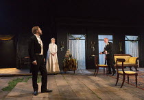 IVANOV   by Chekhov   in a new version by David Hare   part of The Young Chekhov Season   set design: Tom Pye   costumes: Emma Ryott   lighting: Mark Henderson   director: Jonathan Kent l-r: Samuel We...