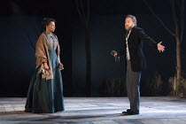 IVANOV   by Chekhov   in a new version by David Hare   part of The Young Chekhov Season   set design: Tom Pye   costumes: Emma Ryott   lighting: Mark Henderson   director: Jonathan Kent Nina Sosanya (...