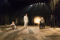 THE SEAGULL   by Chekhov   in a new version by David Hare   part of The Young Chekhov Season   set design: Tom Pye   costumes: Emma Ryott   lighting: Mark Henderson   director: Jonathan Kent l-r: Oliv...
