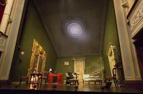 GASLIGHT   by Patrick Hamilton   design: William Dudley   lighting: Chris Davey   director: Lucy Bailey stage,set,whole,interior,Victorian,prosceniumTheatre Royal / Royal & Derngate, Northampton, Engl...