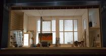 LA BOHEME   by Puccini   conductor: Xian Zhang   set design: Johannes Schutz   costumes: Victoria Behr   lighting: Jon Clark   director: Benedict Andrews   stage,set,whole,empty,interior,studio,German...