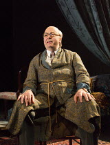 THE MODERATE SOPRANO   by David Hare   design: Rae Smith   lighting: James Farncombe   director: Jeremy Herrin Roger Allam (Captain John Christie)Hampstead Theatre (HT), London NW3   29/10/2015...