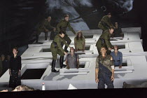 soldiers kill prisoners   THE FORCE OF DESTINY (La forza del destino) by Verdi in a new production conducted by Mark Wigglesworth and directed by Calixto Bieito   new English translation by Jeremy Sam...