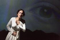 LITTLE EYOLF   by Ibsen   adapted & directed by Richard Eyre   design: Tim Hatley   lighting: Peter Mumford Lydia Leonard (Rita Allmers) Almeida Theatre, London N1   26/11/2015                  Donald...