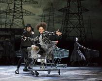 wonder.land   music: Damon Albarn   book & lyrics: Moira Buffini   set design: Rae Smith   costumes: Katrina Lindsay   lighting: Paule Constable   choreographer: Javier De Frutos   director: Rufus Nor...