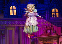 Francesca Mills (Tinkerbell) in PETER PAN opening at the New Wimbledon Theatre, London SW19 on 08/12/2015 director: Ian Talbot  Donald Cooper/Photostage   donald@photostage.co.uk   ref/0017