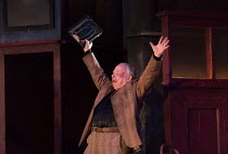 EVENING AT THE TALK HOUSE   by Wallace Shawn   set design: The Quay Brothers   costumes: Soutra Gilmour   lighting: Neil Austin   director: Ian Rickson   Wallace Shawn (Dick)  world premiere   Dorfman...