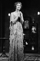 AN INSPECTOR CALLS   by J B Priestley   design: Susan Ayres   lighting: Roger Weaver   director: Bernard Miles ~~Sheila Ruskin (Sheila Birling)~Mermaid Theatre, London EC4   08/1973~ Donald Cooper/Pho...