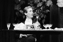 AN INSPECTOR CALLS   by J B Priestley   design: Susan Ayres   lighting: Roger Weaver   director: Bernard Miles ~~Edward Hammond (Eric Birling)~Mermaid Theatre, London EC4   08/1973~ Donald Cooper/Phot...