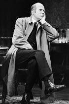 AN INSPECTOR CALLS   by J B Priestley   design: Susan Ayres   lighting: Roger Weaver   director: Bernard Miles ~~Philip Stone (Inspector Goole) ~Mermaid Theatre, London EC4   11/1973~ Donald Cooper/Ph...