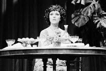 AN INSPECTOR CALLS   by J B Priestley   design: Susan Ayres   lighting: Roger Weaver   director: Bernard Miles ~~Jeanette Ranger (Sheila Birling)~Mermaid Theatre, London EC4   11/1973~ Donald Cooper/P...