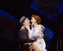 David Haig (Nathan Detroit), Sophie Thompson (Miss Adelaide) in GUYS AND DOLLS a Chichester Festival Theatre 2014 production opening at the Savoy Theatre, London WC2 on 6th January 2016   based on the...