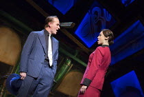 Jamie Parker (Sky Masterson), Siubhan Harrison (Sarah Brown) in GUYS AND DOLLS a Chichester Festival Theatre 2014 production opening at the Savoy Theatre, London WC2 on 6th January 2016   based on the...