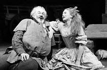 HENRY IV pt.ii by Shakespeare   set design: John Collins   costumes: Elizabeth Haffenden & Joan Bridge   lighting: David Adams   director: Ron Pember   Bernard Miles (Sir John Falstaff), Colette O'Nei...