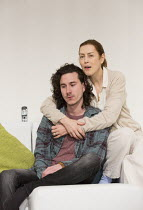 William Postlethwaite (The Son / Nicholas), Gina McKee (The Mother / Anne) in THE MOTHER by Florian Zeller opening at the Tricycle Theatre, London NW6 on 26/01/2016   in a new translation by Christoph...