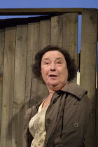 Linda  Bassett (Mrs Jarrett) in ESCAPED ALONE by Caryl Churchill opening at the Jerwood Theatre Downstairs / Royal Court Theatre, London SW1 on 28/01/2016 design: Miriam Buether lighting: Peter Mumfor...