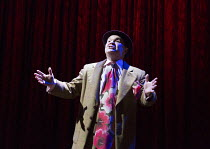 Jamie Foreman (Arthur) in MRS HENDERSON PRESENTS opening at the Noel Coward Theatre, London WC2 on 19/02/2016 ~based on the film screenplay by Martin Sherman book: Terry Johnson lyrics: Don Black musi...