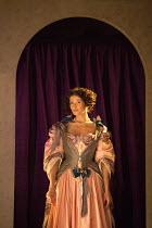 Gemma Arterton (Nell Gwynn) in NELL GWYNN by Jessica Swale opening at the Apollo Theatre, London W1 on 12/02/2016 ~a Shakespeare's Globe 2015 production music: Nigel Hess design: Hugh Durrant lighting...