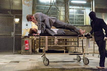 Michelle Terry (Grace), Graham Butler (Graham) in CLEANSED by Sarah Kane opening at the Dorfman Theatre, National Theatre (NT), London SE1 on 23/02/2016 set design: Alex Eales costumes: Sussie Juhlin-...