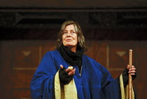 THE TEMPEST by Shakespeare Master of Design: Bjanka Ursulov Master of Music: Nigel Osborne Master of Play (director): Lenka Udovicki Vanessa Redgrave (Prospero)Shakespeare's Globe, London SE1 26/05/20...