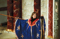 THE TEMPEST by Shakespeare Master of Design: Bjanka Ursulov Master of Music: Nigel Osborne Master of Play (director): Lenka Udovicki Vanessa Redgrave (Prospero) with staffShakespeare's Globe, London S...