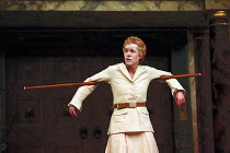 THE TEMPEST by Shakespeare Master of Design: Bjanka Ursulov Master of Music: Nigel Osborne Master of Play (director): Lenka Udovicki Geraldine Alexander (Ariel) Shakespeare's Globe, London SE1 26/05/2...