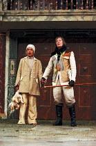 THE TEMPEST by Shakespeare Master of Design: Bjanka Ursulov Master of Music: Nigel Osborne Master of Play (director): Lenka Udovicki l-r: Kananu Kirimi (Miranda), Vanessa Redgrave (Prospero)Shakespear...