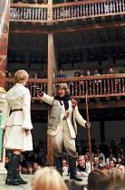 THE TEMPEST by Shakespeare Master of Design: Bjanka Ursulov Master of Music: Nigel Osborne Master of Play (director): Lenka Udovicki l-r: Geraldine Alexander (Ariel), Vanessa Redgrave (Prospero)Shakes...