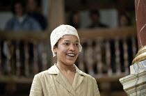 THE TEMPEST by Shakespeare Master of Design: Bjanka Ursulov Master of Music: Nigel Osborne Master of Play (director): Lenka Udovicki ~Kananu Kirimi (Miranda)~Shakespeare's Globe, London SE1 26/05/2000...